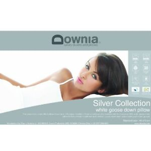 Downia-Silver-Collection-85-White-Goose-Down-Standard-Size-Pillow-RRP-299-95