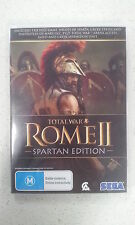 Total War Rome II 2 Spartan Edition PC New