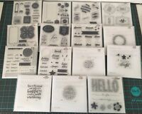 Close To My Heart Stamp Sets - Large Variety Of And Retired -