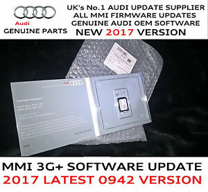 Audi A A Q Q MMI G Genuine USA Firmware Update For - Audi mmi update