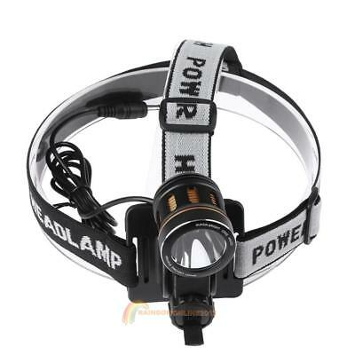 CREE-T6 LED Bicycle Bike Headlight Waterproof USB Rechargeable Head Lamp Torch