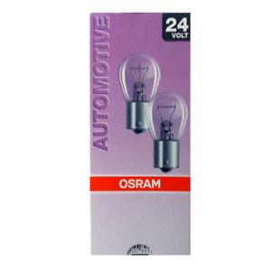 2x-OSRAM-Automotive-24v-15w-BA15S-7529-Camion-Iluminacion-Bombilla-o