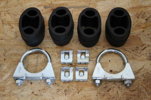 und Endschalldämpfer Opel Corsa B 1.2i  komplettes Anbaumaterial  für Mittel