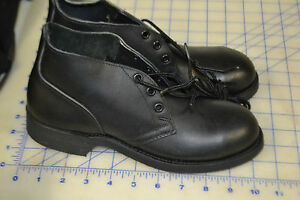 black military CHUKKA boots low top 2XW USA steel toe ANSI ...