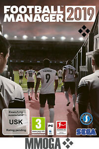 Football Manager 2019 Key - PC STEAM Download Code FM19 Standard Version [DE/EU]