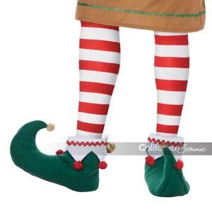 California-Costume-Elf-Shoes-Santa-Helper-Adult-Men-Christmas-Xmas-Costume-60729