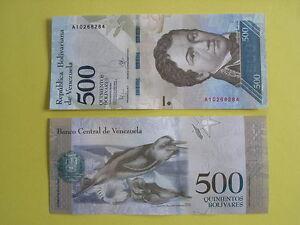 Billet-de-500-bolivares-du-Venezuela