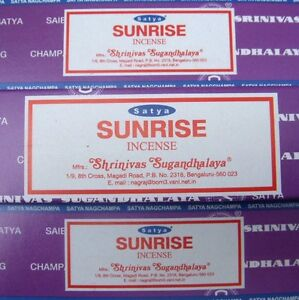 Three 100g of Genuine Nag Champa Incense Sticks boxes. free shipping
