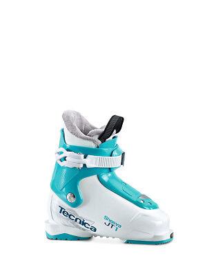 Tecnica Jt 1 Sheeva Skischuh Bambini Sci Tg. 31 Eu Bianco-blu 2017 Scarpa Nuovo S-n-