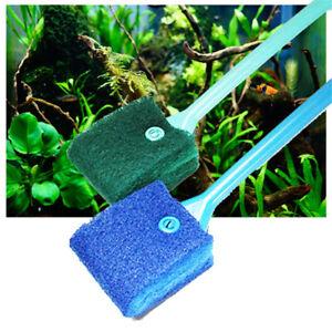 Details about Aquarium fish tank algae cleaner glass scraper plant easy  cleaning brush RAS