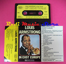 MC LOUIS ARMSTRONG In east europe 1984 italy JOKER MC 3864 no cd lp dvd vhs