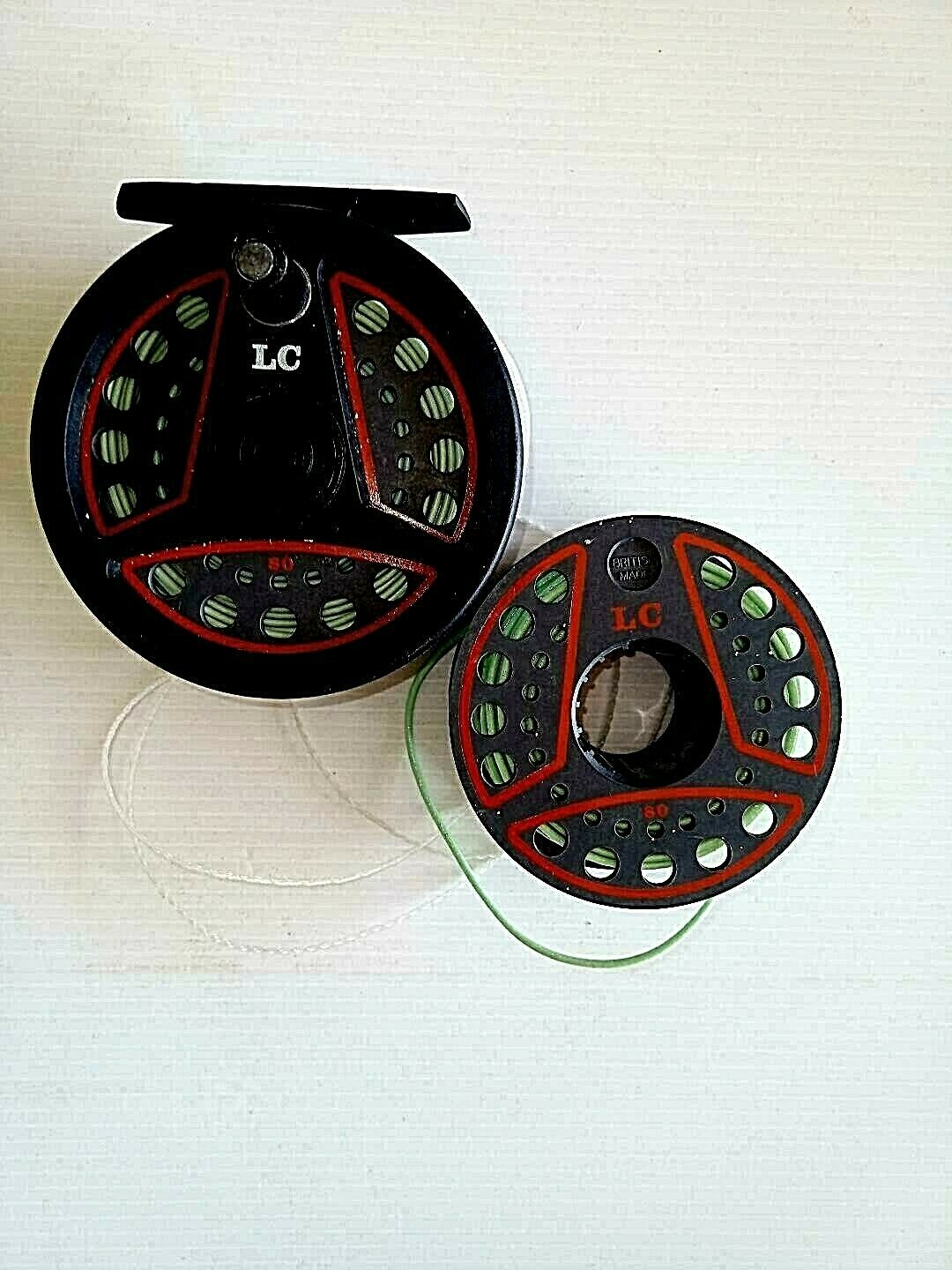 Fly Fishing Reel Leeda Model 80 LC With A Spare Spool, Both...