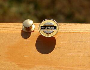 Details about Wal-Mart 5 Years Gold Tone Metal Enamel Walmart Employee  Award Lapel Pin Pinback