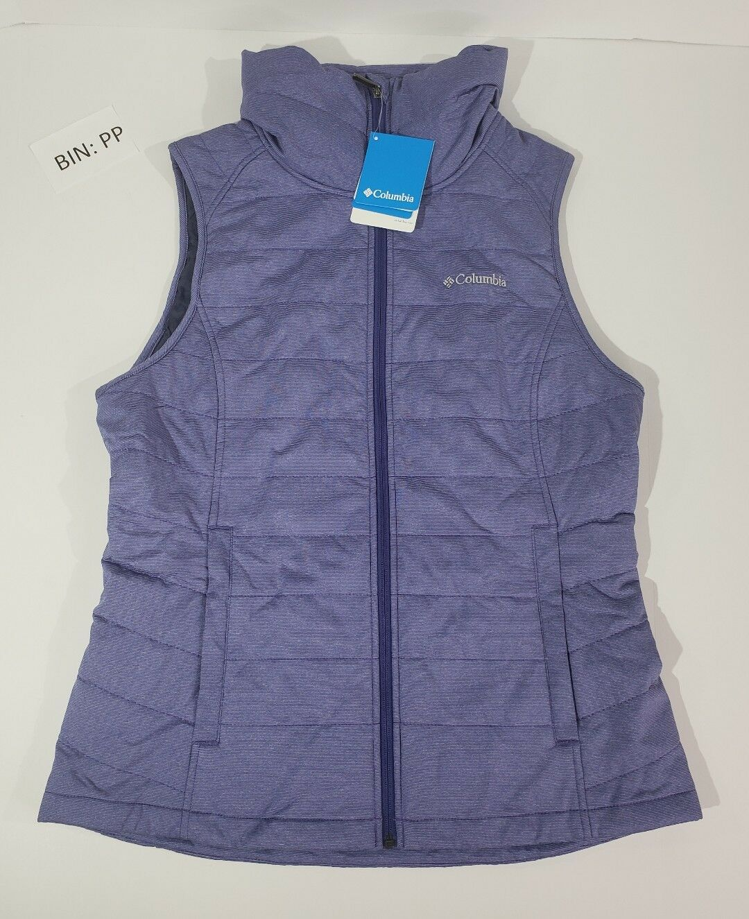 NWT COLUMBIA Sz Large Dandi Camp Insulated Quilted Women's Vest