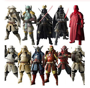 Star-Wars-Samurai-Taisho-Darth-Vader-Boba-Fett-Action-Figure-Collectible-Model