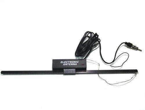 Auto Radio Auto Dischi Antenna Adesiva Ricambio Antenna con Amplificatore 12 V