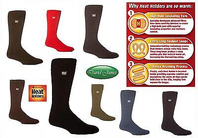Pillar Box Red Heat Holders Kids Long Length Thermal Socks Kids Thermal Socks