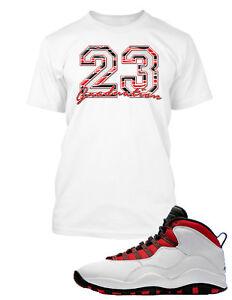 Tee-Shirt-to-Match-Air-Jordan-10-Graduation-Shoe-Custom-Graphic-Tshirt