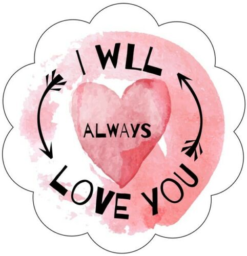 24x 40x37mm Mariage Faveurs//Valentine/'s Day Sweetie stickers love//Romance