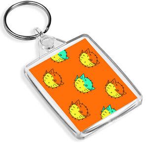 IP02 Pond Fish Japanese Cool Gift #8382 Funky Koi Carp Goldfish Keyring