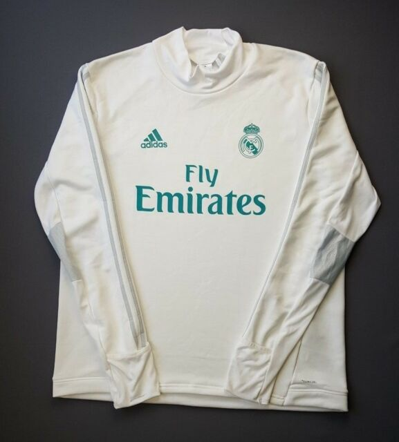 cba7c7363e7 5  5 Real Madrid Training Top White BQ7947 Soccer Football adidas ...