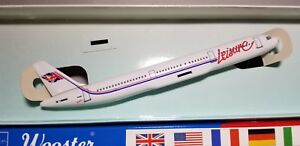 WOOSTER (W564) LEISURE AIRWAYS A321 1:200 SCALE PLASTIC SNAPFIT MODEL