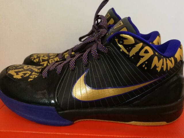 sports shoes f63d4 f14c3 Nike Zoom Kobe IV Pop Playoff MVP for sale online   eBay