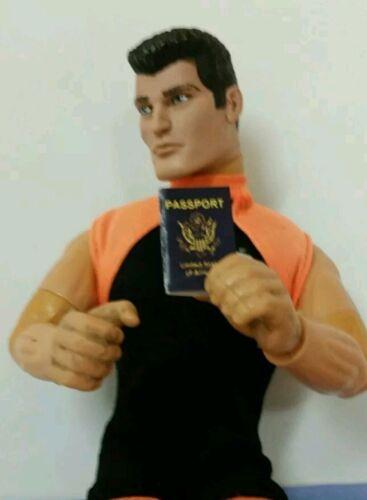 Miniature Playscale Passport GI Joe action Figure War Criminal Nazi Officer