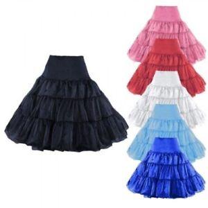 25-034-Retro-Underskirt-50s-Swing-Vintage-Petticoat-Rockabilly-Tutu-Fancy-Net-Skirt