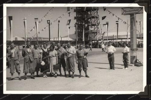 Foto-AK-Stuttgart-Deutsches-Turnfest-1931-Bad-Cannstatt-Flaggenturm-5