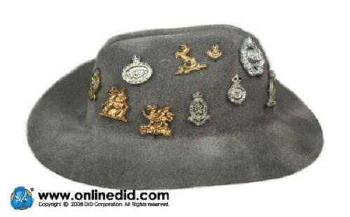 Dragon Dreams 1//6 SCALA WW II British Montgomery Hat montybadges il mio bisogno di essere incollati