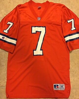 Russell Athletic Authentic Denver Broncos John Elway Jersey (Size 48-XL) | eBay