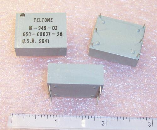 2 M-949-02 TELTONE LINE SENSE RELAYS QTY