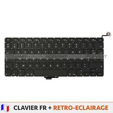 """Clavier Fr Original Apple MacBook Pro 13"""" Unibody A1278 Rétro-éclairage NEUF"""