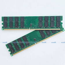 Micron chip 8GB 2x4GB PC2-5300 DDR2 667 667MHZ 240Pin Ram For AMD Desktop Memory