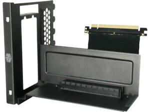 MasterAccessory Vertical Display Graphics Card Holder Kit Including Riser Cable