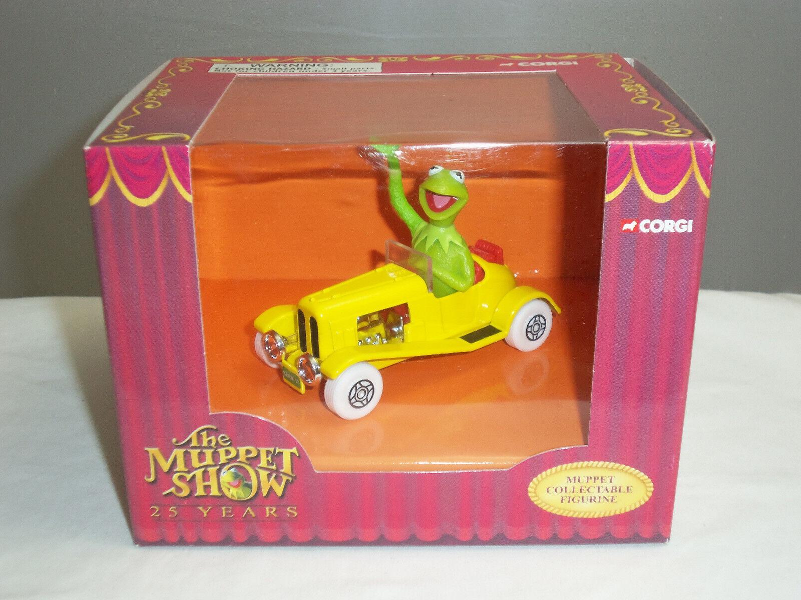 CORGI CC06601 Jim Henson Muppets Kermit Grenouille figure dans Diecast Modèle Auto Jaune
