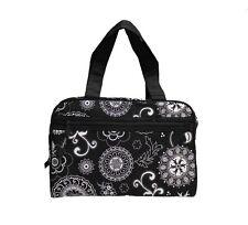 Thirty One Cosmetic Make Up bag Tote Handle Women toiletries Travel Bag