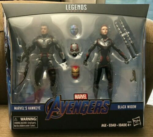 Marvel Legends Avengers Endgame 2 Pack Target Black Widow Hawkeye Iron Ant Man