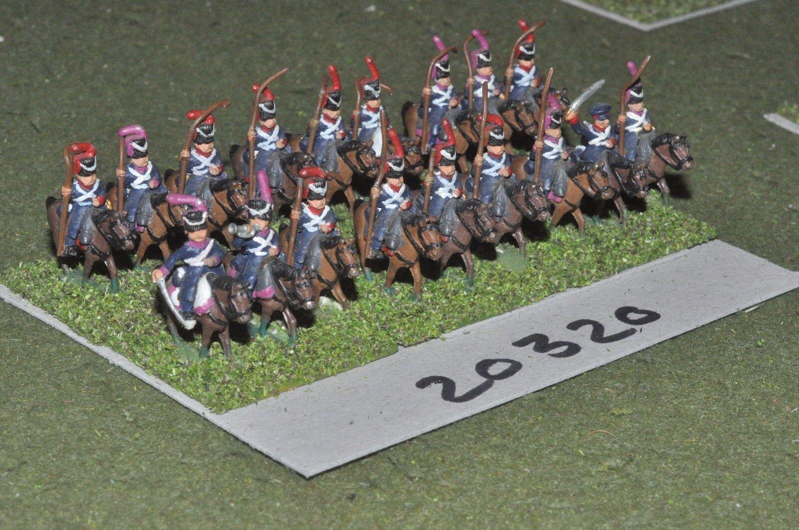 15mm napoleonic   russian - cavalry 18 cavalry - cav (20320)