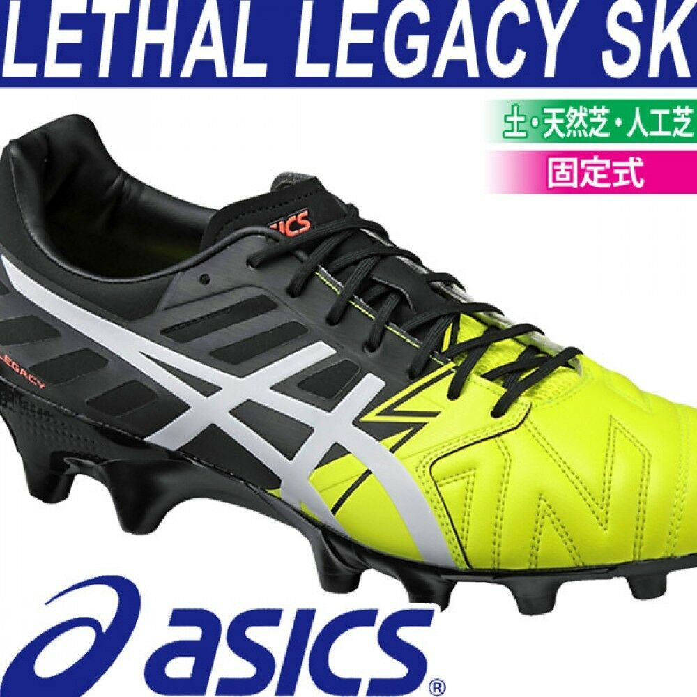 Asics soccer Spikes sautope LETHAL LEGACY SK TSI231 Flash gituttio  bianca US6.5