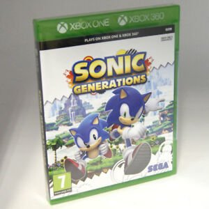 Sonic-Generations-XBox-One-Xbox-360-7-Kids-Game-BRAND-NEW-amp-SEALED-UK-PAL