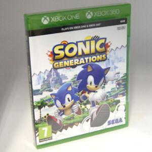 Sonic Generations Xbox One Xbox 360 7 Kids Game Brand New Sealed Uk Pal Ebay