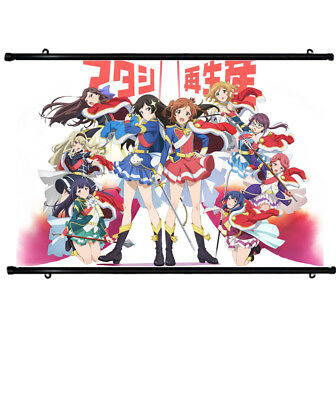 Anime Cloth Poster Shoujo☆Kageki Revue Starlight Characters Wall Scroll 60x40cm
