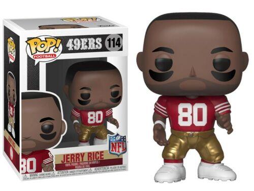Vinyl Figure-NFL Football Legends 49ers #114 Jerry Rice Nouveau Funko POP
