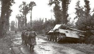 6x4-Lucido-Foto-ww3E0-Normandia-Calvados-Tilly-Sur-Seulles-1944