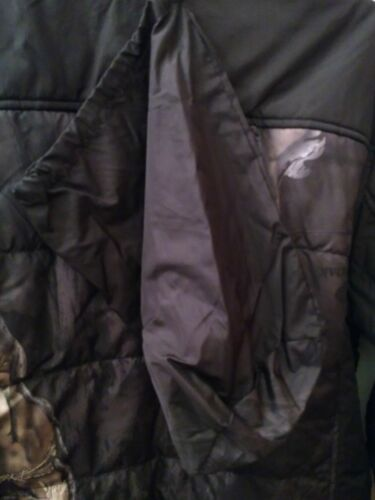 MOSSY OAK CAMO MENS INSULATED JACKET BOMBER CAMOUFLAGE HUNTING WINTER SNOW SLICK