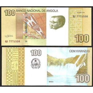 Angola 100 Kwanzas 2012 Unc P 153 A 93i7e5dy-07231401-132796228