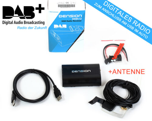 Antenne für BMW Reveiver Dension DBU3GEN DAB USB DAB-Radio Empfänger DAB