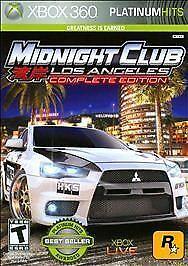 Midnight Club Los Angeles Complete Edition Platinum Hitts Xbox 360 Mew Sealed